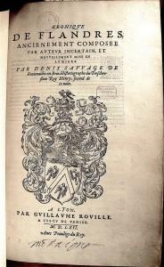 Page de titre - (c) Paris, BNF. Cliché A. Legros