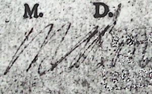 CESAR 1575_3: Paraphe