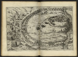 César ; I Commentari di G. Giulio Cesare, Venise, Pietro de Fra
