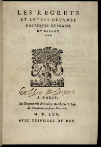 Du Bellay_BUC: faux ex-libris de Vrain-Lucas_photoAL-BVH