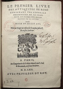 Faux ex-libris de Vrain-Lucas - (c) Paris, BNF - Photo AL-BVH