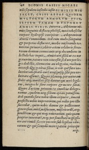 Egnatius ; Cæsarum vitæ post Suetonium Tranquillum conscriptæ