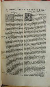 Strabon De situ: p.1 deux mains