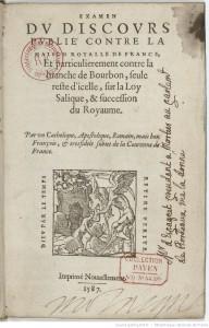 Page de titre - Gallica