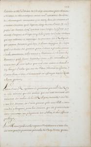 Copie manuscrite du XVIIIe siècle, BNF, Fr 22373, p.155.