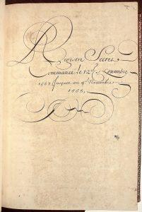 10. RS 1567-68 (titre), Bibliothèque nationale de France. Photo A. Legros.