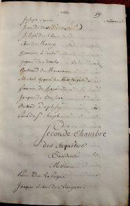 RS 1561-62 (1re Enquêtes), Archives municipales de Bordeaux. Photo A. Legros.