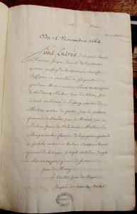RS 1562-63 (1re Enquêtes), Archives municipales de Bordeaux. Photo A. Legros.