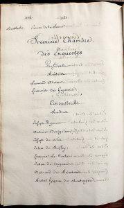 RS 1563-64 (1re Enquêtes), Archives municipales de Bordeaux. Photo A. Legros.