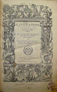 Page de titre, Fontenay-le-Comte, Médiathèque, photo A. Legros